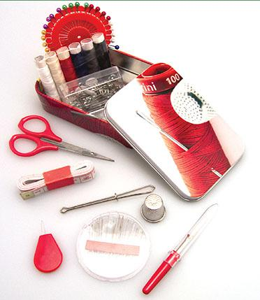 Basic Isacord Thread Tin
