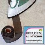 Heat and Press Batting Together - Black