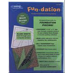 Fun-Dation 8-1/2 x 11, White, 25 sheets/package
