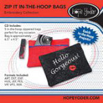 Zip It Embroidery CD