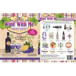 Wine With Me Embroidery Collection