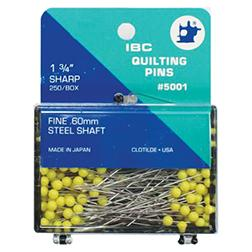 250- IBC Quilt Pins 1.75 Yellow