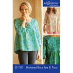 Gathered Back Top and Tunic Pattern by Indygo Junction