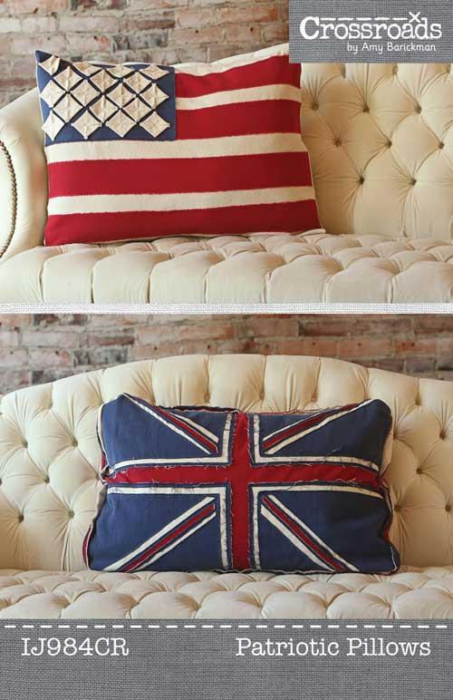 Patriotic Pillows pattern - IJH984CR