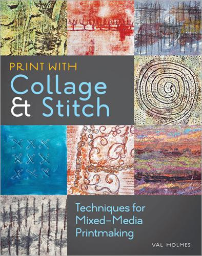 Print with Collage and Stitch