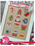 Vintage Christmas Sampler Cross Stitch