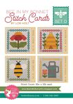 Bee in My Bonnet Stitch Cards Set D