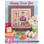 Happy Farm Girl Cross Stitch