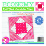 Economy Quilt Block 6 in Foundation Paper Pad