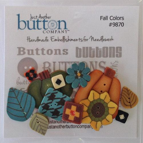Fall Colors Button Pack