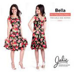 BELLA Fit and flare dress