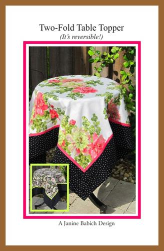 Two Fold Table Topper