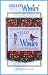 Hello Winter Wall Hanging Machine Embroidery Des