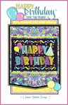 Happy Birthday Table Top Machine Embroidery Design