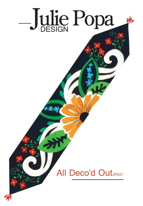 All Deco'd Out - Table Runner Pattern