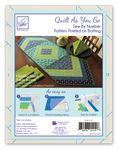Quilt As You Go Table Runner Morning Blend Pattern