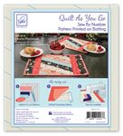 Jakarta - Quilt As You Go Placemats (6)