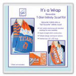 It's a Wrap T-Shirt Scarf Kit - Infinity