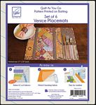 QAYG Placemat  Venice Pattern