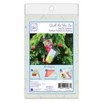 Quilt As You Go - Holiday Square Stocking JT-14889