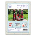 Quilt As You Go Wine Totes 3 pk