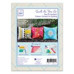 Quilt As You Go Pillow Cover 3 pk