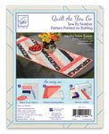 Quilt as You GO Jakarta Table Runner Pattern