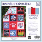 Just Add T-Shirts Quilt Kit Red Sashing