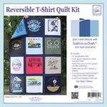 Just Add T-Shirts Quilt Kit Navy Sashing