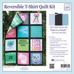 Just Add T-Shirts Quilt Kit Black Sashing