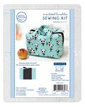 Insulated Lunchbox Sewing Tote, Zippity-Do-Done Black