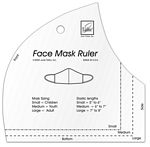 Face Mask Ruler Template
