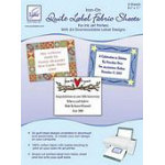 Quilt Label Fabric Sheets-24 Downloadable Designs