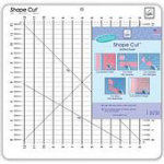 Shape Cut  Slotted Ruler - 1/2 inch