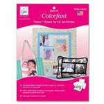 Colorfast Print Fab White 50p