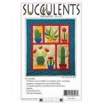 Succulents Wall Quilt Kit