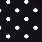 Tea Towel Black White Dot