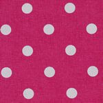 Tea Towel Pink  with White Dot