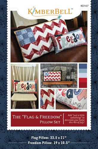 The Flag and Freedom Pillow Se