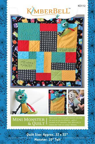 Mini Monster and Quilt