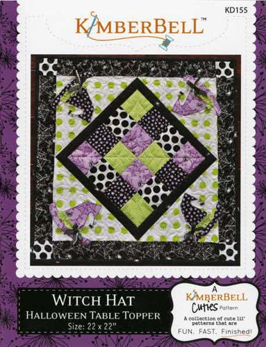 Witch Hat Table Topper