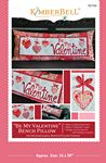 Be My Valentine Bench Pillow