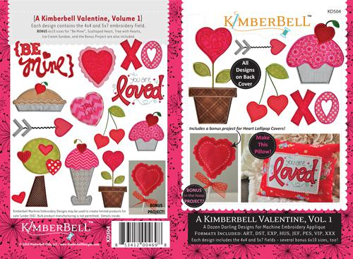 KD504 Kimberbell Valentine Vol. 1