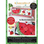 Kimberbell Slice of Summer Watermelon - Bench Pillow (ME)