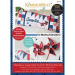 America, Land That I Love - Bench Pillow (ME) Pattern 523
