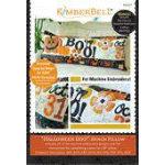 Kimberbell Machine Em CD - Halloween Boo! Bench Pillow