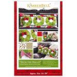 Deck The Halls Bench Pillow Kimberbell