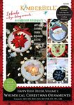 KD568 Happy Hoop Decor Vol 1 Whimsical Christmas Ornaments Kimberbell