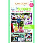 Kimberbell Bench Buddy May June July and August Machine Emb
