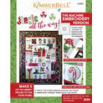 Jingle All the Way! Machine Embroidery CD & Book